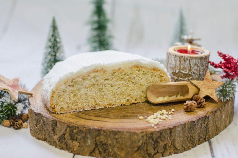 Leicht-Rezept-Butter-Mandelstollen-Backen-Weihnachten-Saisonal