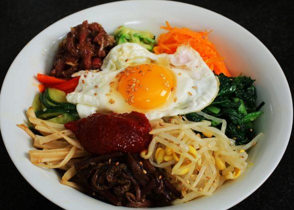 Leicht-Rezept-Bibimbap-Koreanisches-Rezept