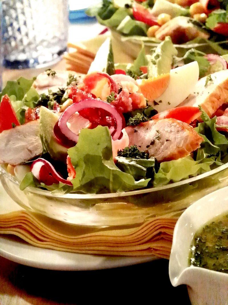 Leicht-Rezept-Cobb-Salat-kochen-gesund-ernähren-fitness-besser-essen