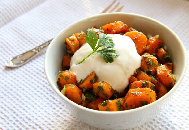 Leicht-Rezept-Marokkanischer-karotten-Salat-kochen-gesund-ernähren