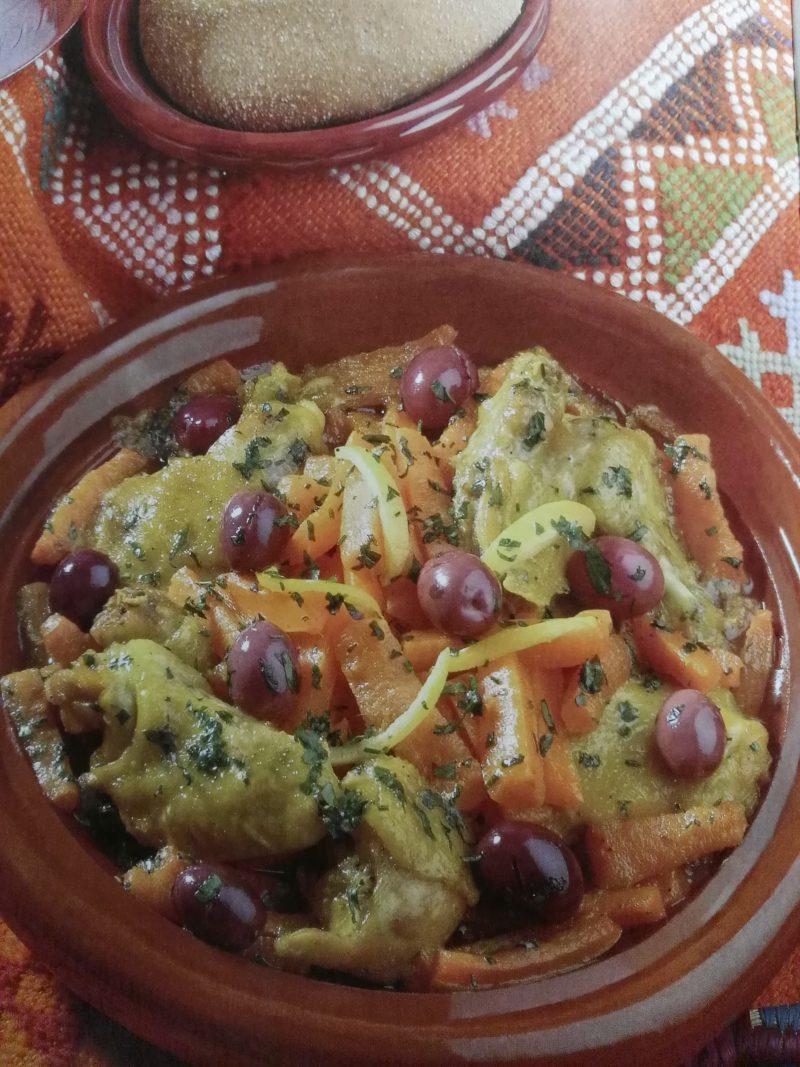 Leicht-Rezept-Hähnchen-Tajine-mit-Karotten-kochen-gesund-marokkanisch