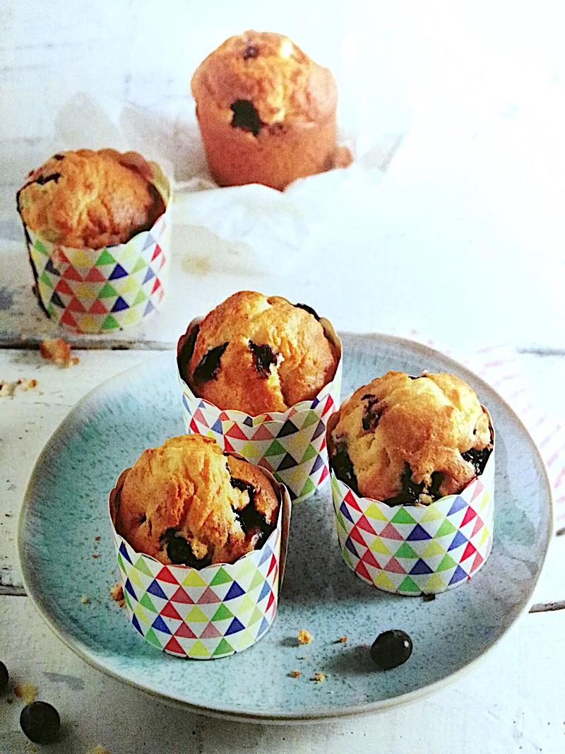 Leicht-Rezept-Quarkmuffins-mit-Blaubeeren-Low-carb-Fitmacher-Fitness-gesund-Ernähren