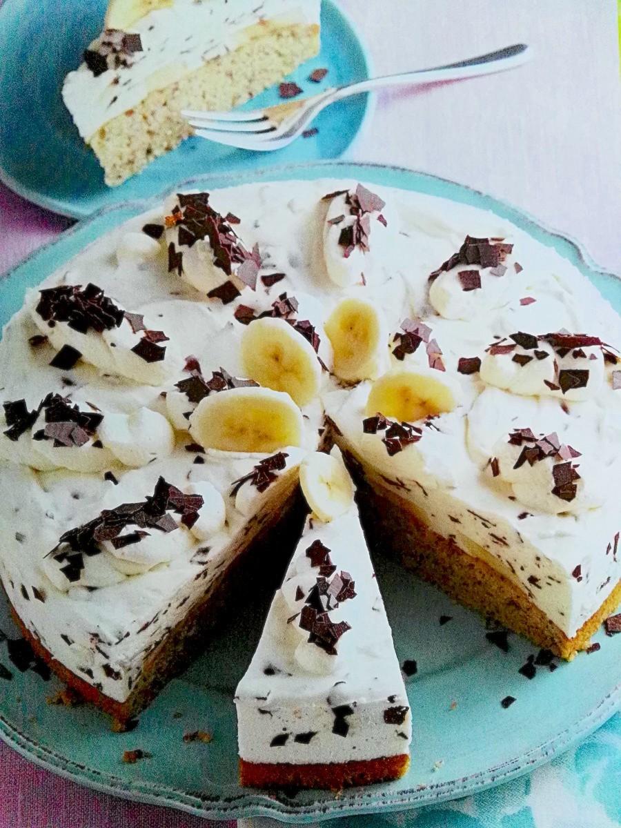 Leicht-Rezept-Bananen-Split-Torte-Backen-Selbstgemacht-gesund-essen-dessert
