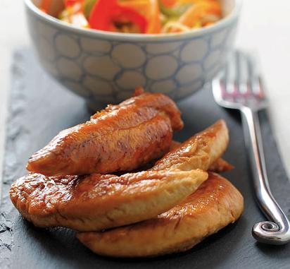leicht-rezept-karamellisierte-hühnerbrustfilets-asiatisch-gesund-kochen-rezepte