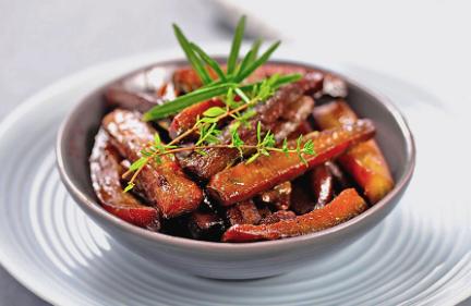 leichtrezept-glasierte-karotten-gesund-essen-ernährung